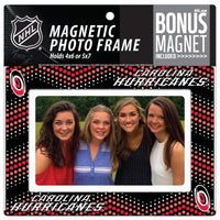 Carolina Hurricanes 4x6 or 5x7 Magnetic Picture Frame with Bonus Magnet