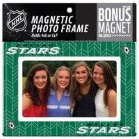 Dallas Stars 4x6 or 5x7 Magnetic Picture Frame with Bonus Magnet