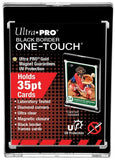 Ultra Pro 1Touch 35pt Black Border UV Magnetic Holder One Touch Upper Deck & Panini