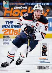 October 2019 Beckett Hockey Monthly Magazine - Connor McDavid Cover