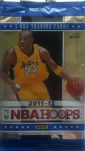 2011-12 NBA Hoops Basketball PACK - 5 Cards Per Pack