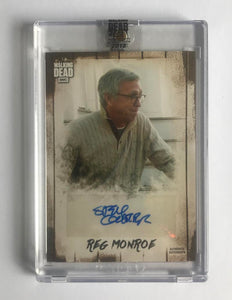 2018 The Walking Dead Autograph Collection Steve Coulter as Reg Monroe 5/99