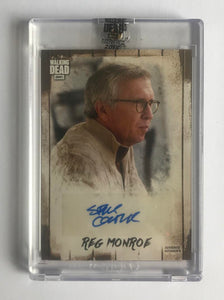 2018 The Walking Dead Autograph Collection Steve Coulter as Reg Monroe 38/99