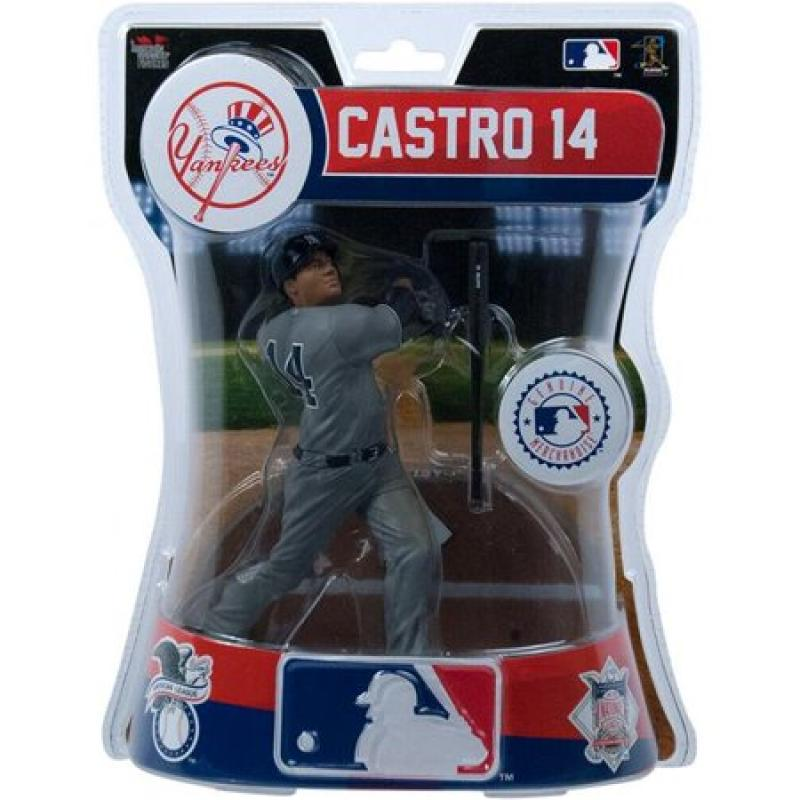 "Starlin Castro New York Yankees 6"" MLB Imports Baseball Figure & Stand"