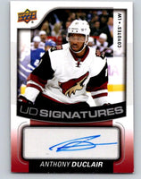 2015-16 Upper Deck UD Signatures Anthony Duclair MINT Auto 07650