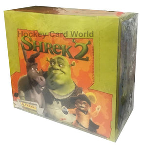 2004 Panini Shrek 2 Factory Sealed Sticker 48 Pack Box - 10 Stickers Pack