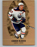 2019-20 Upper Deck Tim Hortons Gold Etchings Connor McDavid NHL 07152