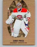 2019-20 Upper Deck Tim Hortons Gold Etchings #GE-3 Carey Price MINT Montreal 07154