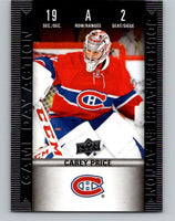 2019-20 Upper Deck Tim Hortons Game Day Action #HGD-2 Carey Price MINT 07175