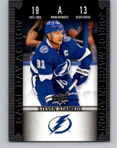 2019-20 Upper Deck Tim Hortons Game Day Action #HGD-13 Steven Stamkos MINT 07184
