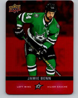 2019-20 Upper Deck Tim Hortons Red Die-Cut #DC-6 Jaime Benn MINT Dallas Stars 07186