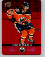 2019-20 Upper Deck Tim Hortons Red Die-Cut #DC-28 Connor McDavid MINT Oilers 07195