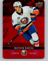 2019-20 Upper Deck Tim Hortons Red Die-Cut #DC-32 Mathew Barzal MINT Islanders 07197