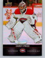 2019-20 Upper Deck Tim Hortons #31 Carey Price Mint Montreal Canadiens