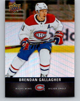 2019-20 Upper Deck Tim Hortons #99 Brendan Gallagher Mint Montreal Canadiens