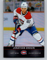 2019-20 Upper Deck Tim Hortons #118 Jonathan Drouin Mint Montreal Canadiens