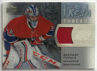 2015-16 Upper Deck Ice Fresh Threads Zachary Fucale NHL Jersey 07712