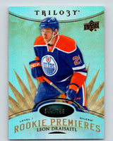 2014-15 Upper Deck Trilogy #131 Leon Draisaitl Rookie 644/799 RC 07729