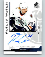 2006-07 SP Authentic #181 Patrick Thoresen Rookie Auto 484/999 RC 07738