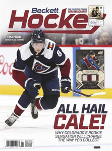 February 2020 Beckett Hockey Monthly Magazine - Cale Makar Cover