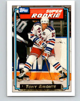 1992-93 Topps Gold #6G Tony Amonte Mint New York Rangers