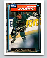 1992-93 Topps Gold #7G Pat Falloon Mint San Jose Sharks