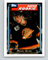 1992-93 Topps Gold #8G Pavel Bure Mint Vancouver Canucks