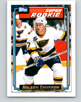 1992-93 Topps Gold #11G Nelson Emerson Mint St. Louis Blues
