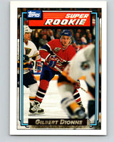 1992-93 Topps Gold #13G Gilbert Dionne Mint Montreal Canadiens
