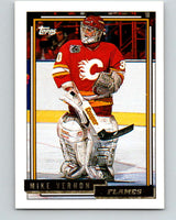 1992-93 Topps Gold #20G Mike Vernon Mint Calgary Flames