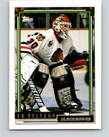 1992-93 Topps Gold #22G Ed Belfour Mint Chicago Blackhawks