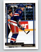 1992-93 Topps Gold #27G Randy Gilhen Mint New York Rangers