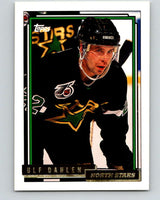 1992-93 Topps Gold #28G Ulf Dahlen Mint Minnesota North Stars