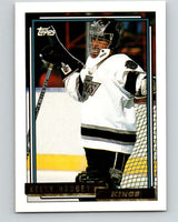 1992-93 Topps Gold #29G Kelly Hrudey Mint Los Angeles Kings