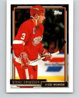 1992-93 Topps Gold #37G Steve Chiasson Mint Detroit Red Wings