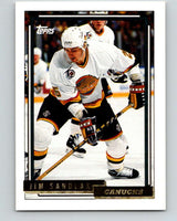 1992-93 Topps Gold #41G Jim Sandlak Mint Vancouver Canucks