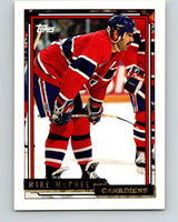 1992-93 Topps Gold #45G Mike McPhee Mint Montreal Canadiens