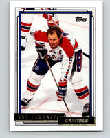 1992-93 Topps Gold #46G Rod Langway Mint Washington Capitals