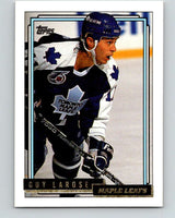 1992-93 Topps Gold #47G Guy Larose Mint Toronto Maple Leafs
