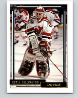 1992-93 Topps Gold #48G Craig Billington Mint New Jersey Devils
