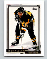 1992-93 Topps Gold #50G Todd Nelson Mint Pittsburgh Penguins
