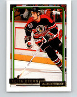 1992-93 Topps Gold #52G Keith Brown Mint Chicago Blackhawks