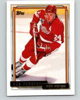 1992-93 Topps Gold #63G Bob Probert Mint Detroit Red Wings