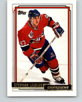 1992-93 Topps Gold #69G Stephan Lebeau Mint Montreal Canadiens