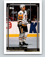 1992-93 Topps Gold #70G Rick Tocchet Mint Pittsburgh Penguins