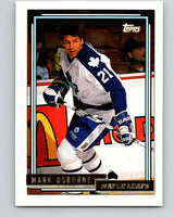 1992-93 Topps Gold #77G Mark Osborne Mint Toronto Maple Leafs
