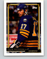 1992-93 Topps Gold #91G Colin Patterson Mint Buffalo Sabres