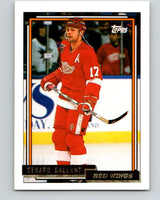 1992-93 Topps Gold #92G Gerard Gallant Mint Detroit Red Wings