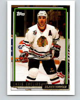 1992-93 Topps Gold #98G Chris Chelios Mint Chicago Blackhawks