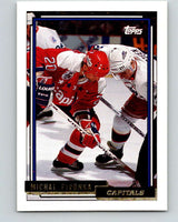1992-93 Topps Gold #107G Michal Pivonka Mint Washington Capitals